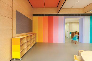 JSRACS Kindergarten, Beechboro Campus, by Brooking Design Architects.