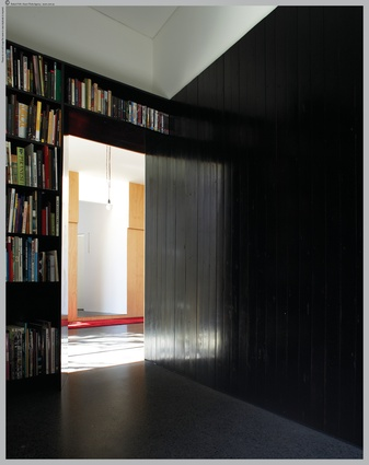 Each room is a different interplay of light and dark, textures and colours.