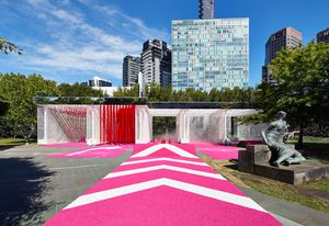 The 2016 NGV Architecture Commission, Haven't you always wanted…? by M@ Studio Architects is inspired by a car wash.