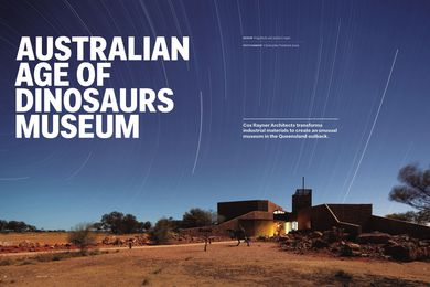 Australian Age of Dinosaurs Museum by Cox Rayner Architects.