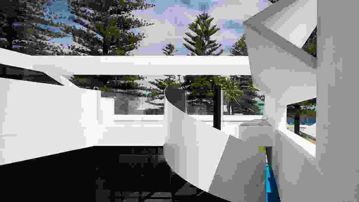 Residential: House in Cottesloe by Blane Brackenridge Architect.