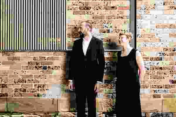 Andrew Scott and Anita Panov, directors of Panov Scott Architects.