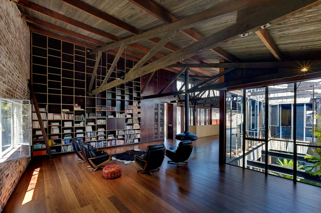 Lilyfield Warehouse by Virginia Kerridge Architect.