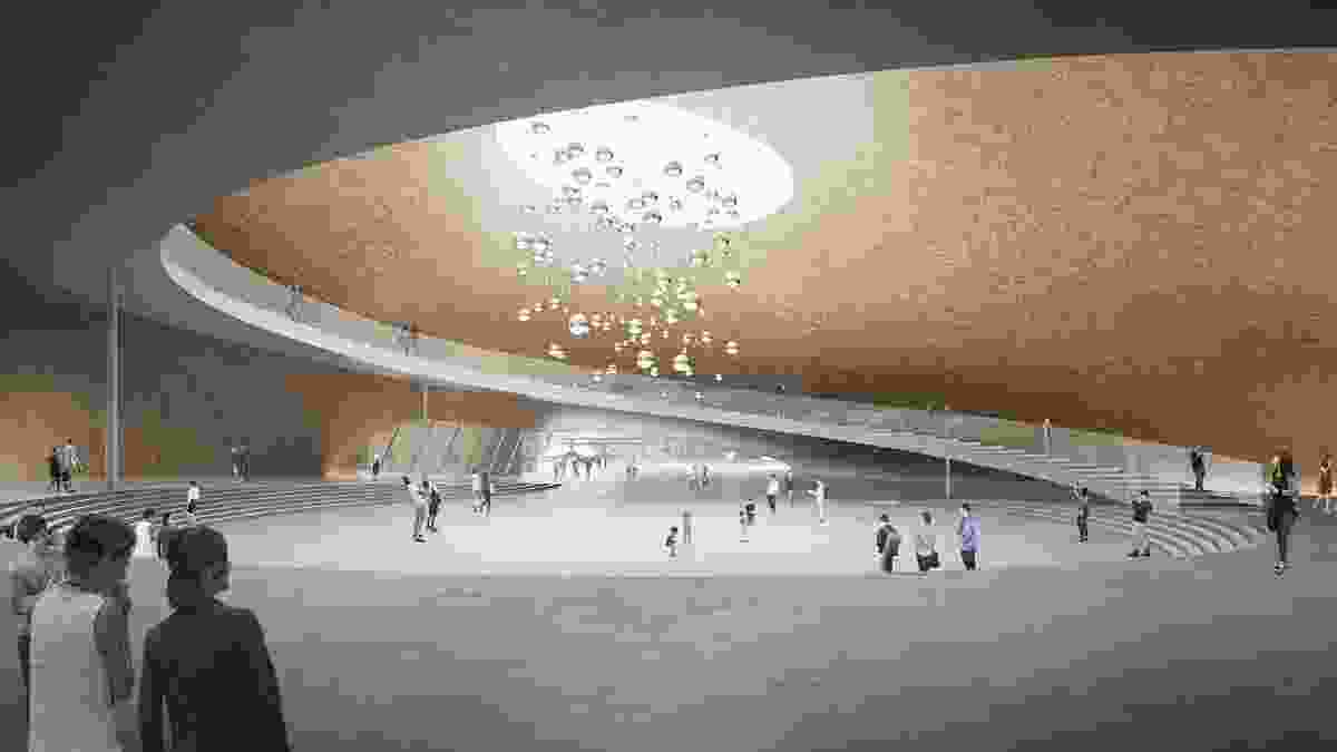 Singapore Founders Memorial proposal by 8DGE and RSP Architects.
