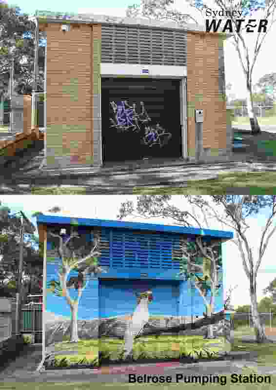 Sydney Water Mural Program (NSW) by Sydney Water.