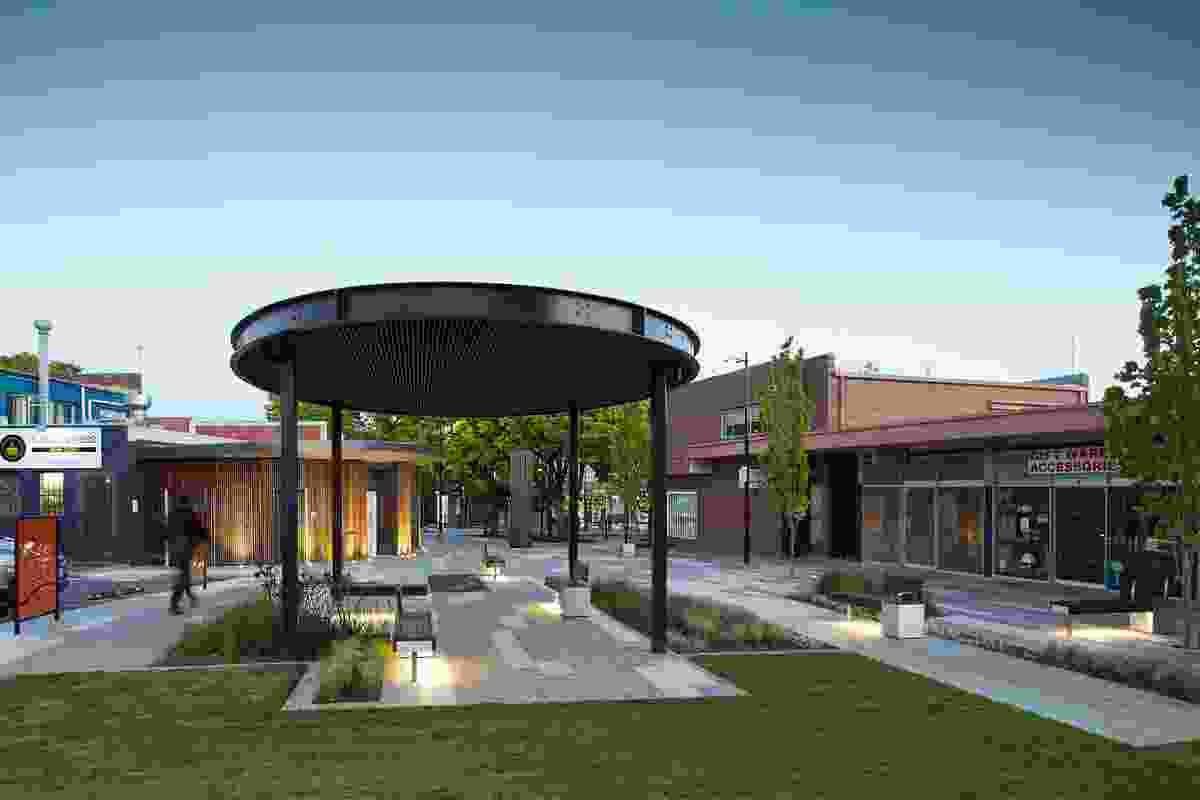 Croydon Town Square by Hansen Partnership