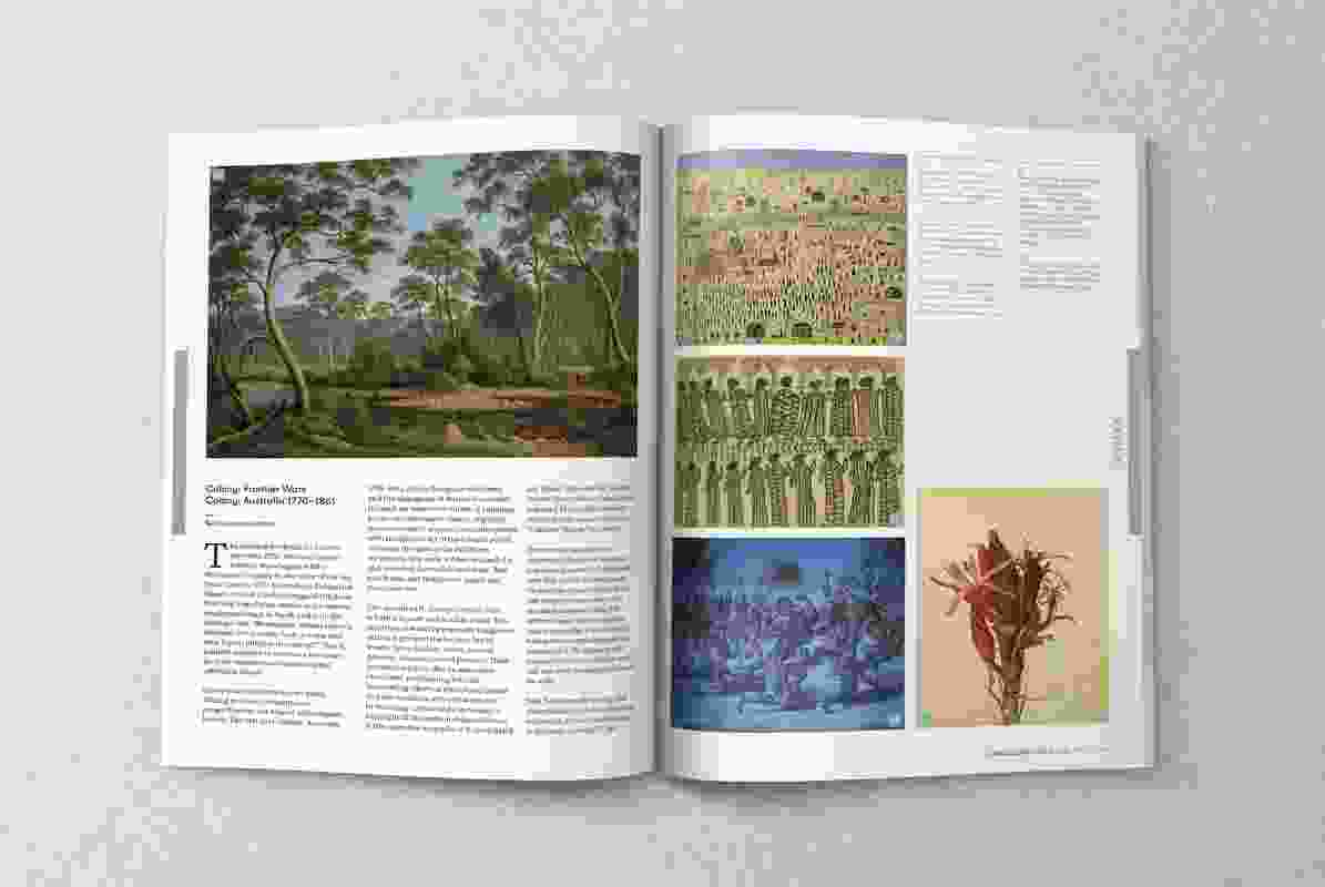 A spread from the May 2018 issue of Landscape Architecture Australia.