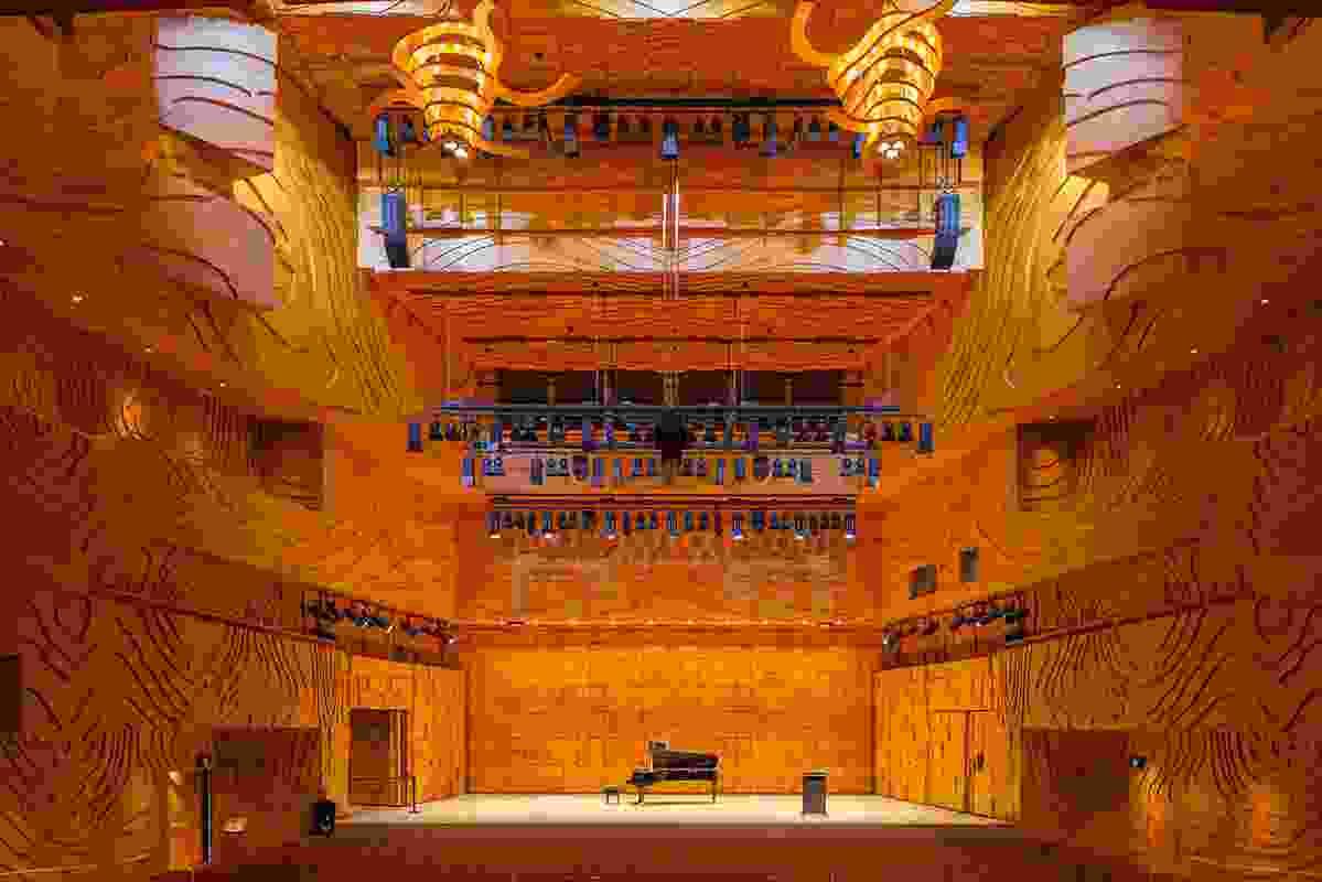 Melbourne Recital Centre interior.