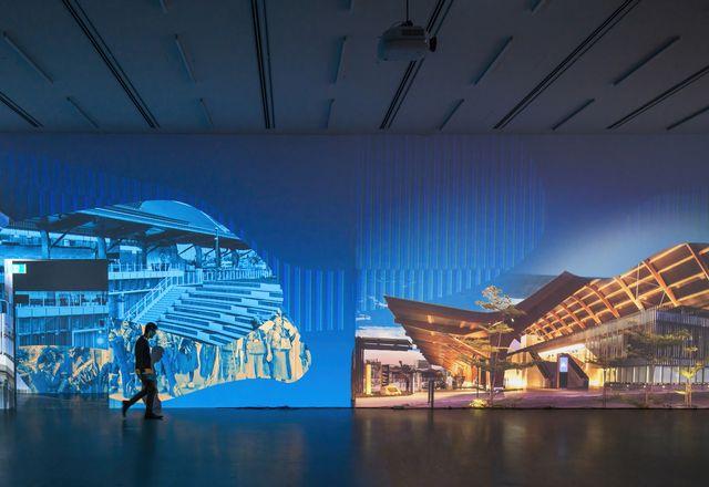 """澳大利亚威尼斯建筑双年展""""中间""""于2021年5月在里昂豪斯博物馆画廊展出。"""