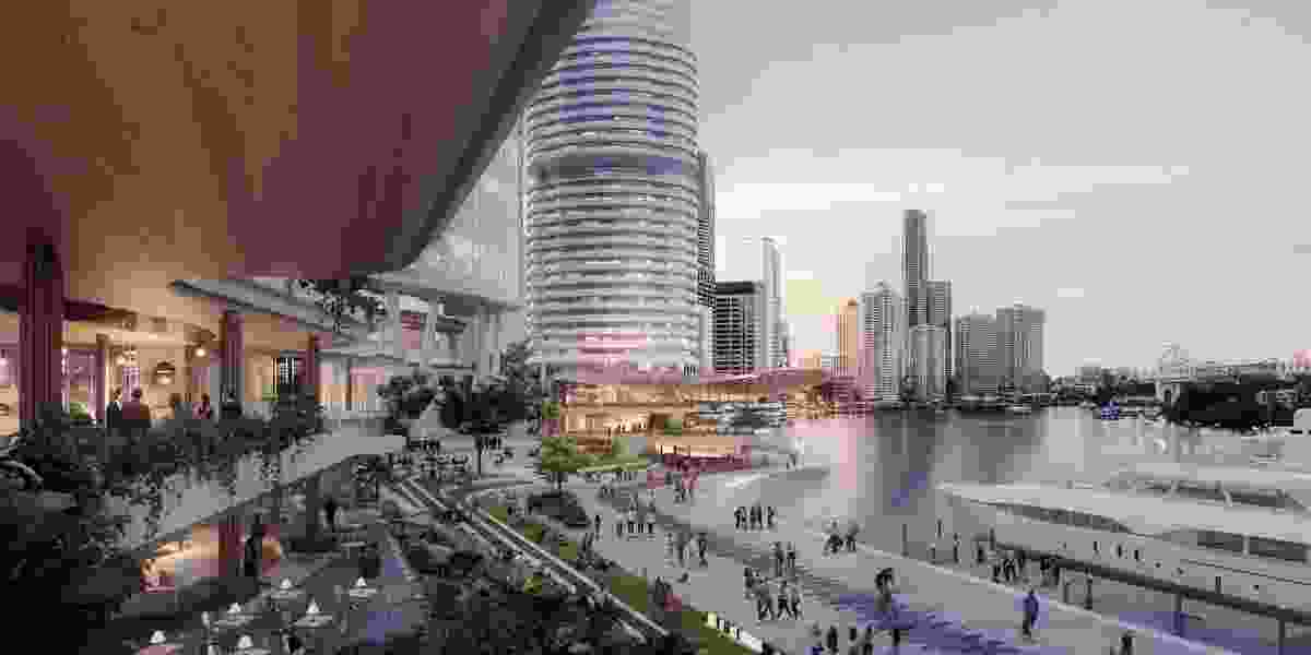 Dexus plan to transform Eagle Street Pier, building two new towers and creating 1.5 hectares of public riverfront open space.