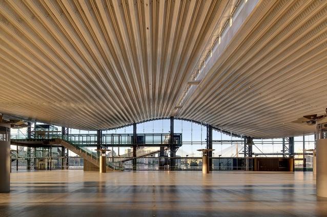 Sydney Cruise Terminal by Johnson Pilton Walker Architects.