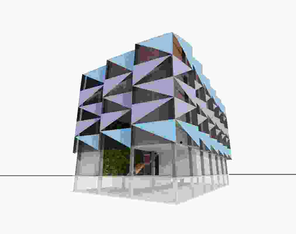 A concept scheme for a health precinct.