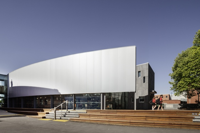 Williamstown Library by Sally Draper Architects in association with Mitsuori Architects.