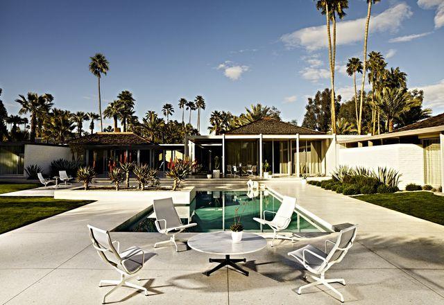 The Eames Aluminium Group Outdoor collection.