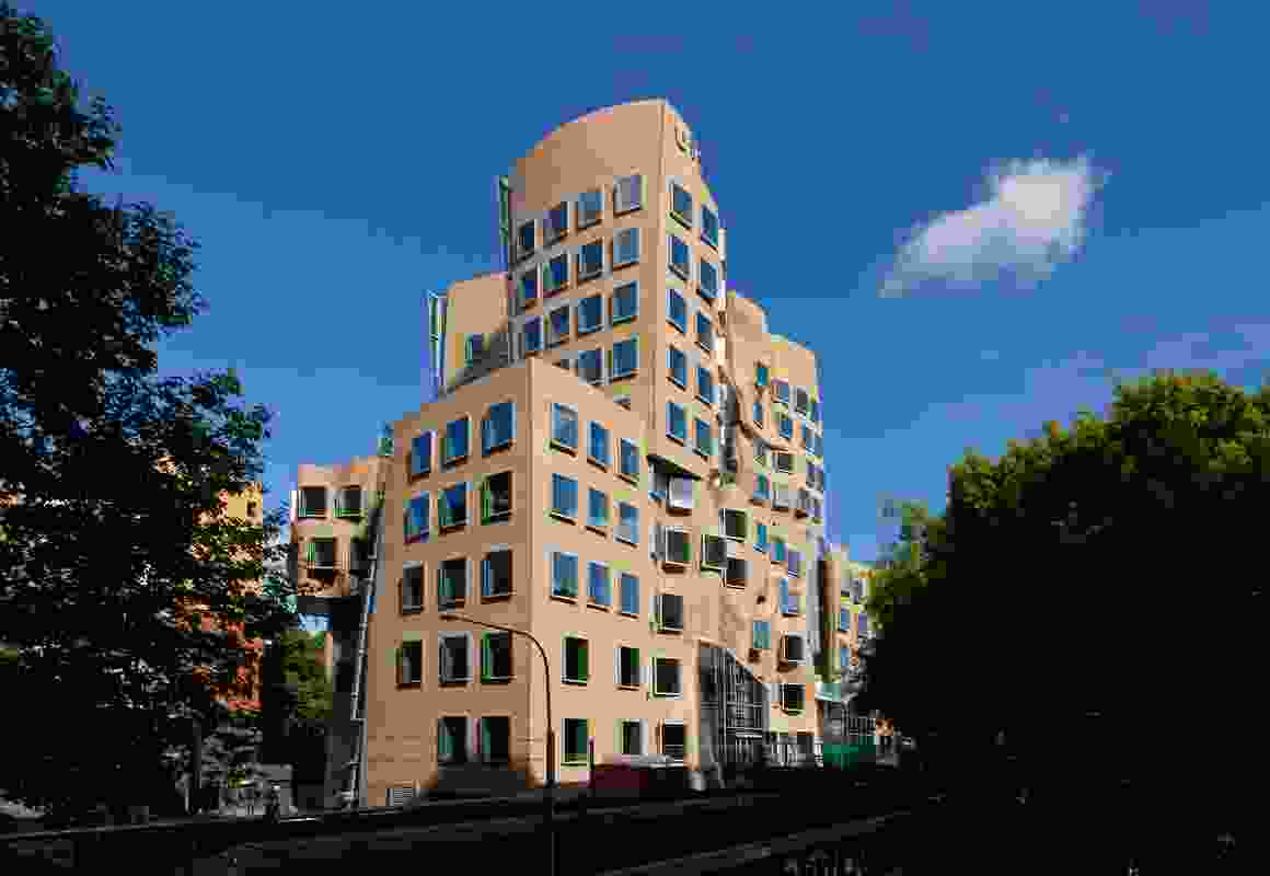Dr Chau Chak Wing Building, UTS, by Frank Gehry.