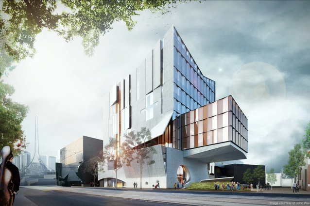 John wardle architects wins melbourne conservatorium of music the proposed melbourne conservatorium of music designed by john wardle architects malvernweather Images