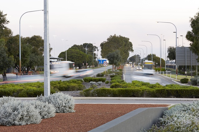 Perth Airport - Airport Drive / Horrie Miller Drive / Terminal 2 by Hassell.