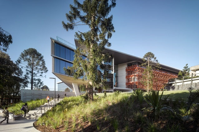 2014 queensland architecture awards architectureau uq advanced engineering building by richard kirk architect hassell joint venture malvernweather Images