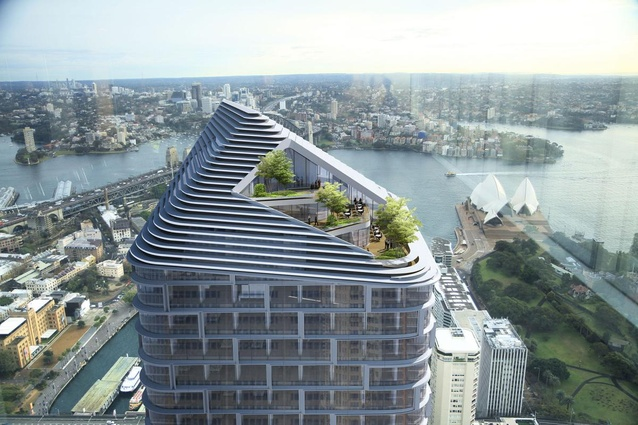 Quay Quarter Tower by 3XN Architects.