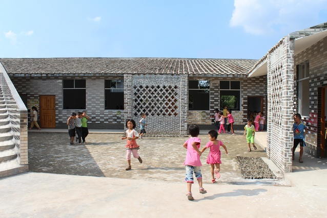 Mulan Primary School in Guangdong, China by Rural Urban Framework.