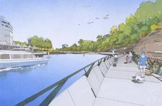 Parramatta boardwalk to provide 'missing link' along river