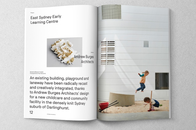 East Sydney Early Learning Centre designed by Andrew Burges Architects.