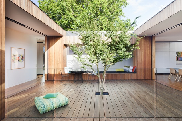Courtyard House by Matt Gibson Architecture + Design.