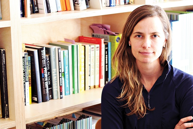Kate Orff is founder and partner of New York–based landscape architecture studio Scape and director of Columbia University's Graduate Urban Design Program.