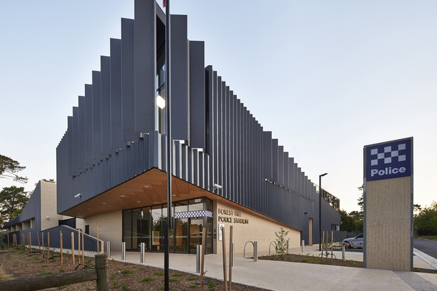 Forest Hill Police Station by bamford architects.