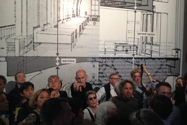 Rem Koolhaas at <em>Elements</em>, Venice 2014.