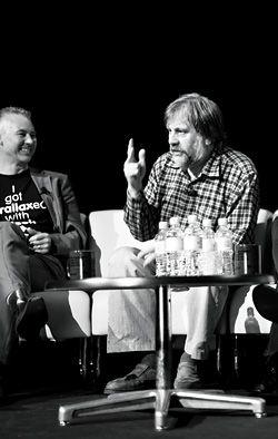 Slavoj Žižek in discussion with Richard Blythe.