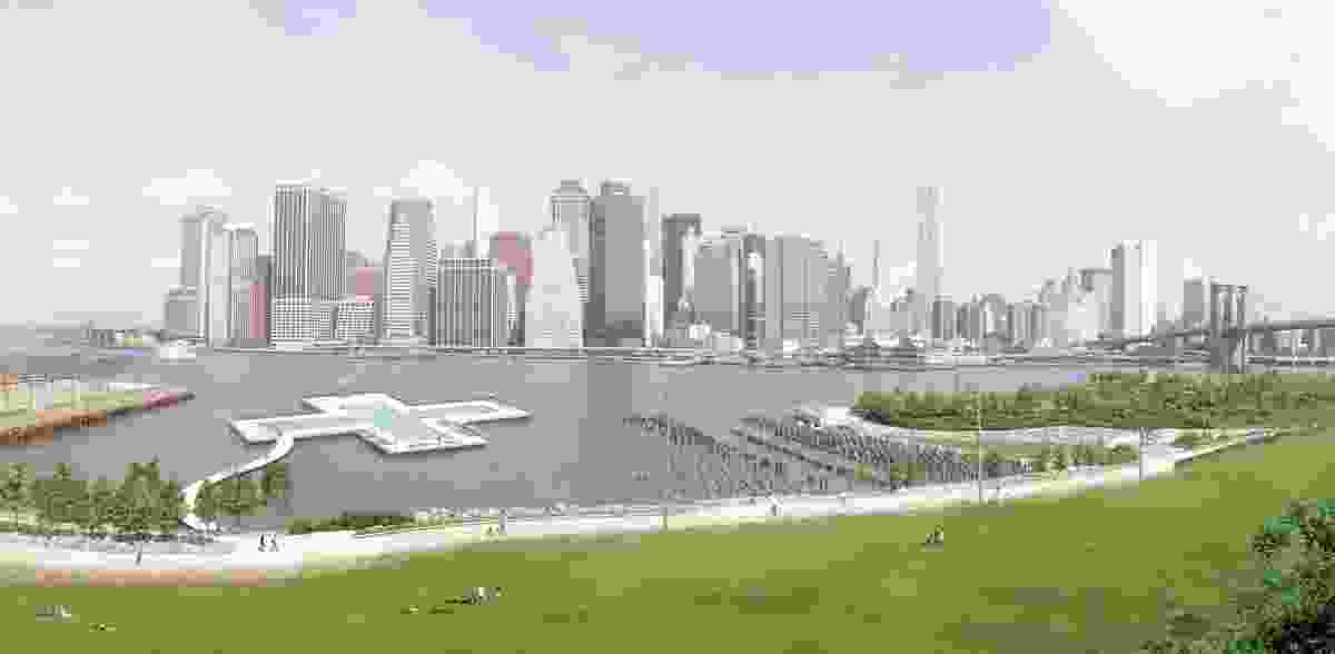 +Pool by Family and Playlab, originally proposed for the East River in Brooklyn.