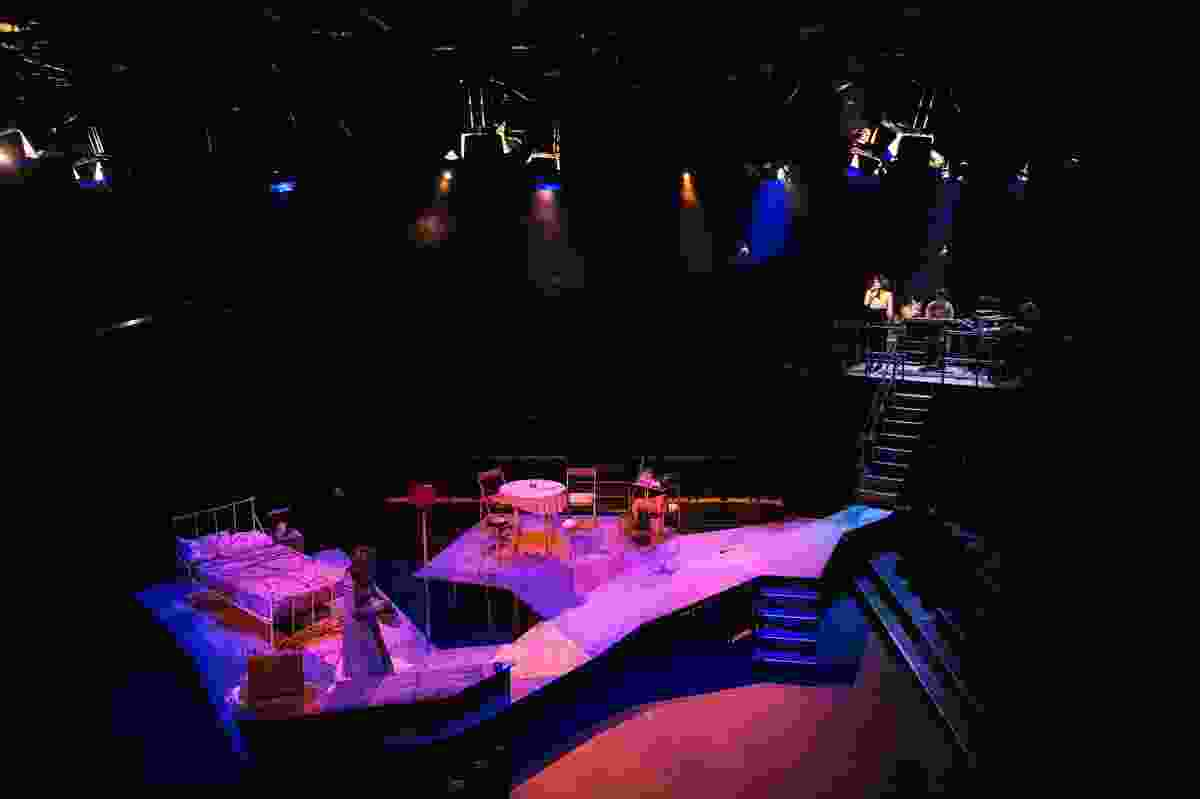 "Set design for La Boite's ""A Streecar Named Desire"" by Vilma Mattila and Kevin O'Brien Architects."