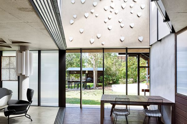 Archibald Street House by Kevin O'Brien Architects and Susan Ellison.