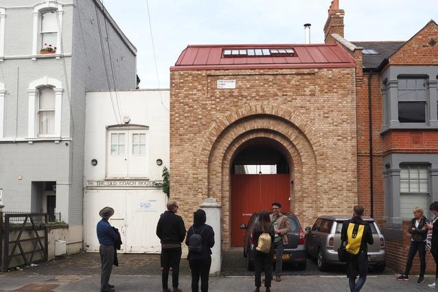 A street view of Tin House by Henning Stummel.
