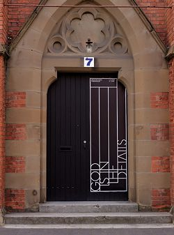 Entry to God is in the Details: Architectural Thresholds, which was held in a converted church  in Hobart.