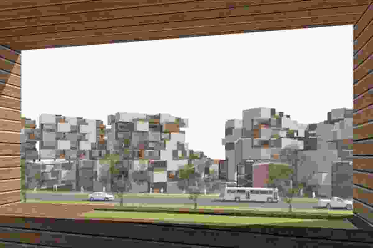 Northbourne Flats competition by GHD.