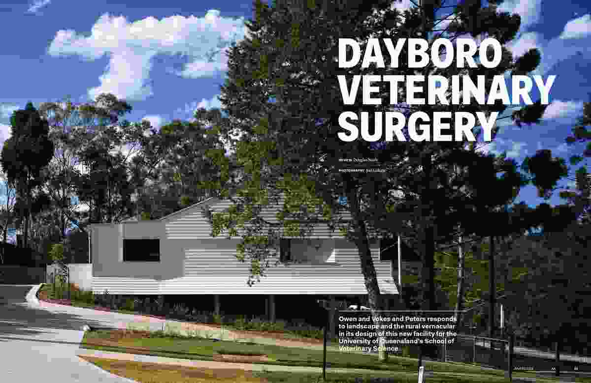 Dayboro Veterinary Surgery by Owen and Vokes and Peters.