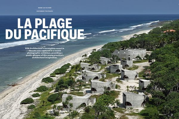 La Plage du Pacifique by KGA Architecture.