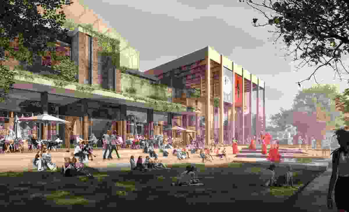 Proposal for the refurbishment of the Sutherland Entertainment Centre by Chrofi and NBRS Architecture.