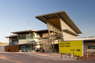 NT Medical Program and Allied Health Infrastructure (Pharmacy) Facility by DKJ Projects.architecture and Woodhead.