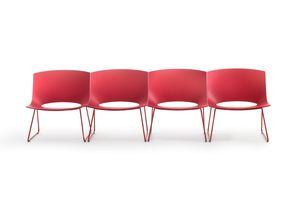 Oh! Sled Chair by Gabriel Teixidó for Enea Contract.