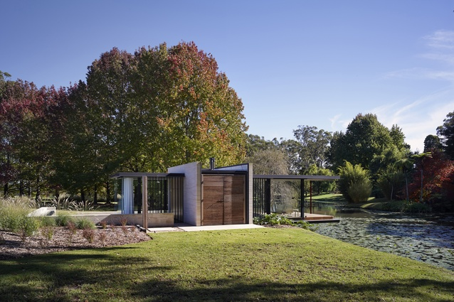 Somersby Pavilion by Matthew Woodward Architecture.