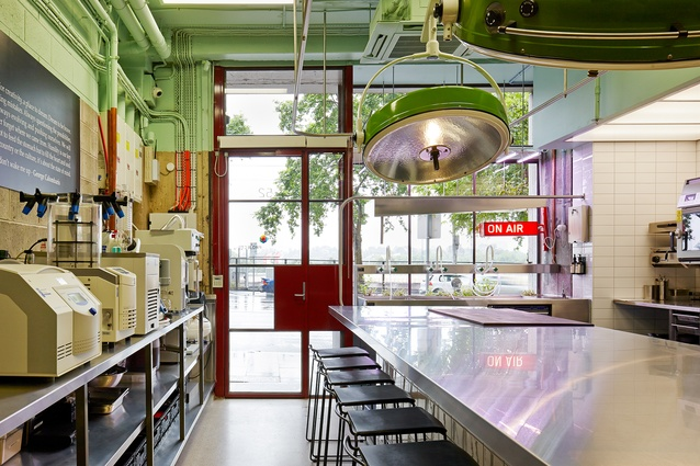 The Press Club projects test kitchen gives George Calombaris's team a place to experiment with new dishes.