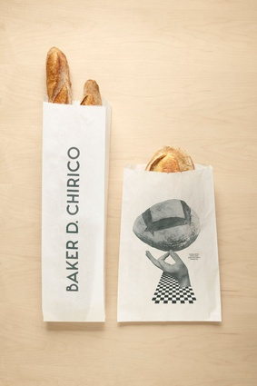 Baker D. Chirico packaging and typography by Fabio Ongarato Design.