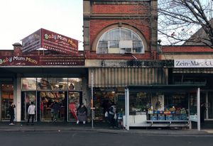 Daily life on Footscray's Paisley Street.