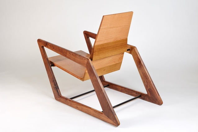Pat Spratt chair by David Cummins.