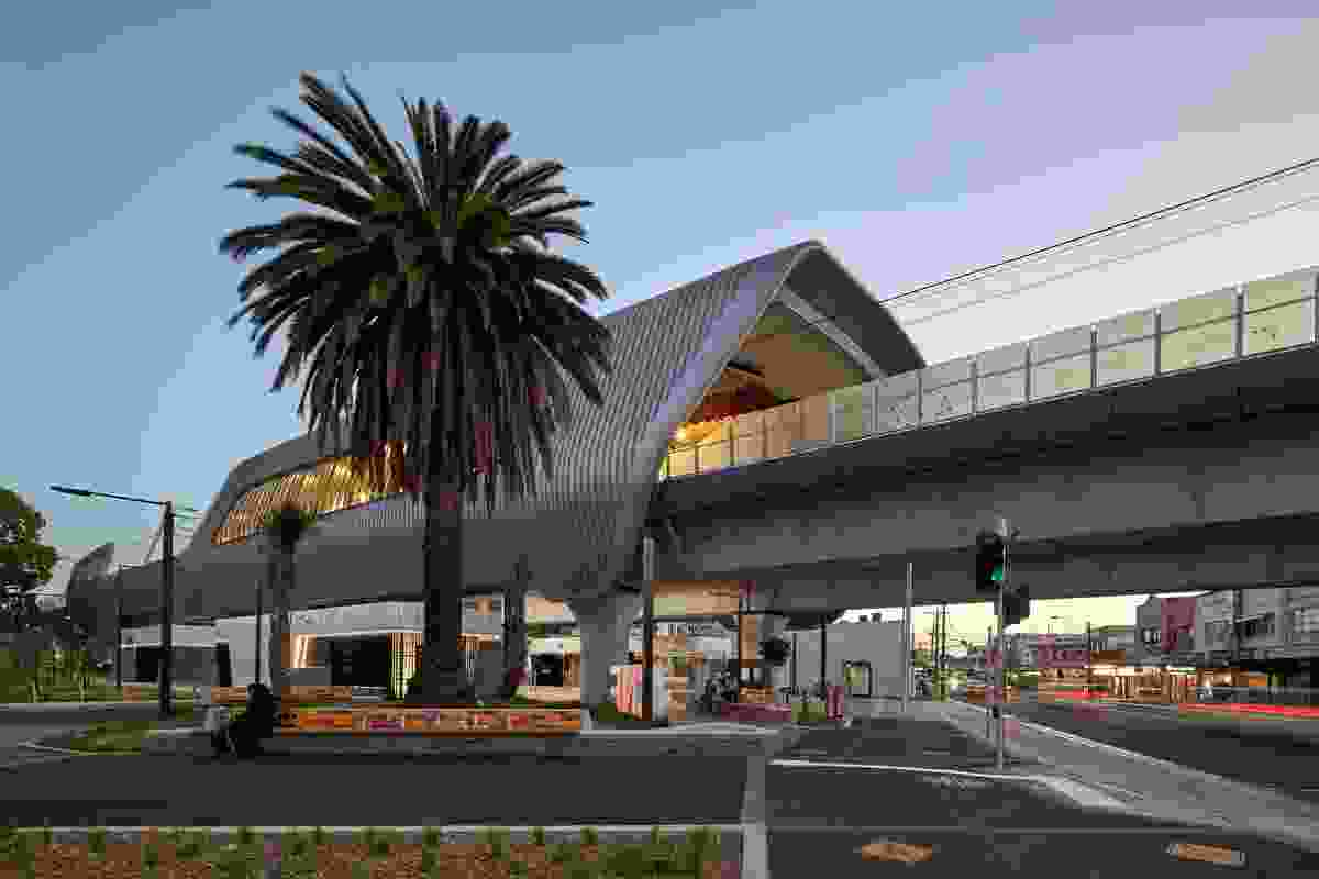 Caulfield to Dandenong Level Crossing Removal by Cox Architecture.