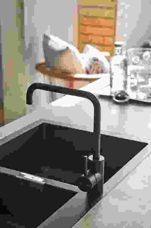 Astra Walker Icon black tapware.