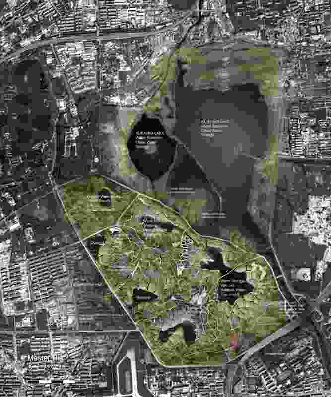 The scheme balances the demands of urban, agricultural, wetland and forest systems.